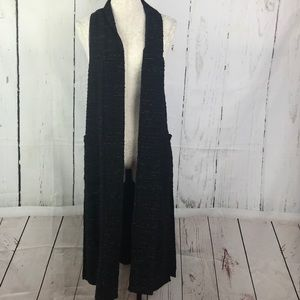 Mossimo Long Sleeveless Cardigan Duster